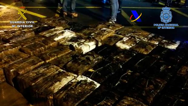 First transatlantic 'narco sub' carrying 'tonnes of cocaine' captured off Spanish coast