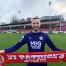 Conor Kearns has joined St Patrick's Athletic