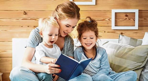 Benefits: It's the 'back and forth' during storytime that re-inforces closeness between parents and children