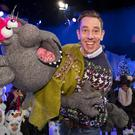 Ryan Tubridy pictured with some of the participants on the set of the Late Late Toy Show 2019 at a preview Friday's Late Late Toy Show, which will be broadcast at 9.30pm on RTE 1...Picture Colin Keegan, Collins Dublin