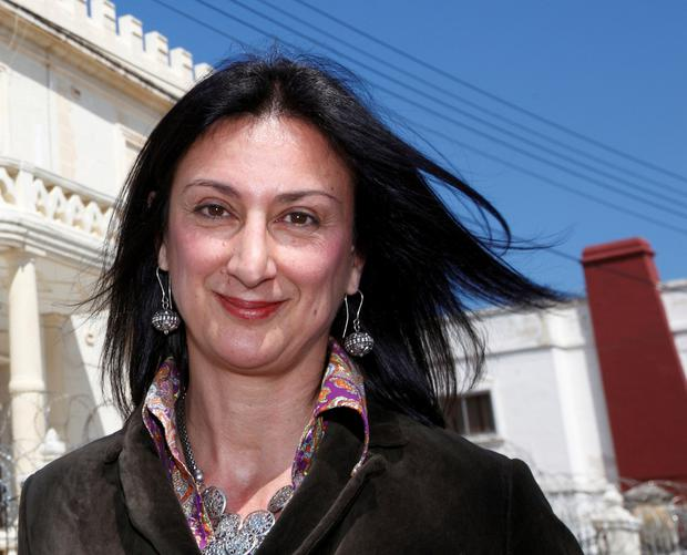 Murdered: Journalist Daphne Caruana Galizia's killing has sparked outrage. Photo: Reuters