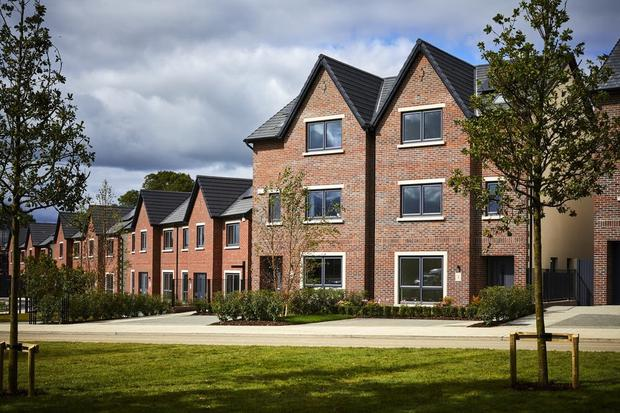 Home sweet home?: Houses and flats at Mariavilla, Maynooth, have been sold off to US fund Urbeo