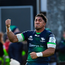 """Aki: """"I'm grateful for the opportunity I've been given to represent both Connacht and Ireland and am delighted to extend my Irish Rugby Football Union contract."""" Photo by Ramsey Cardy/Sportsfile"""
