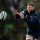 Ross Molony will captain Leinster when they take on Glasgow today. Photo by Ramsey Cardy/Sportsfile