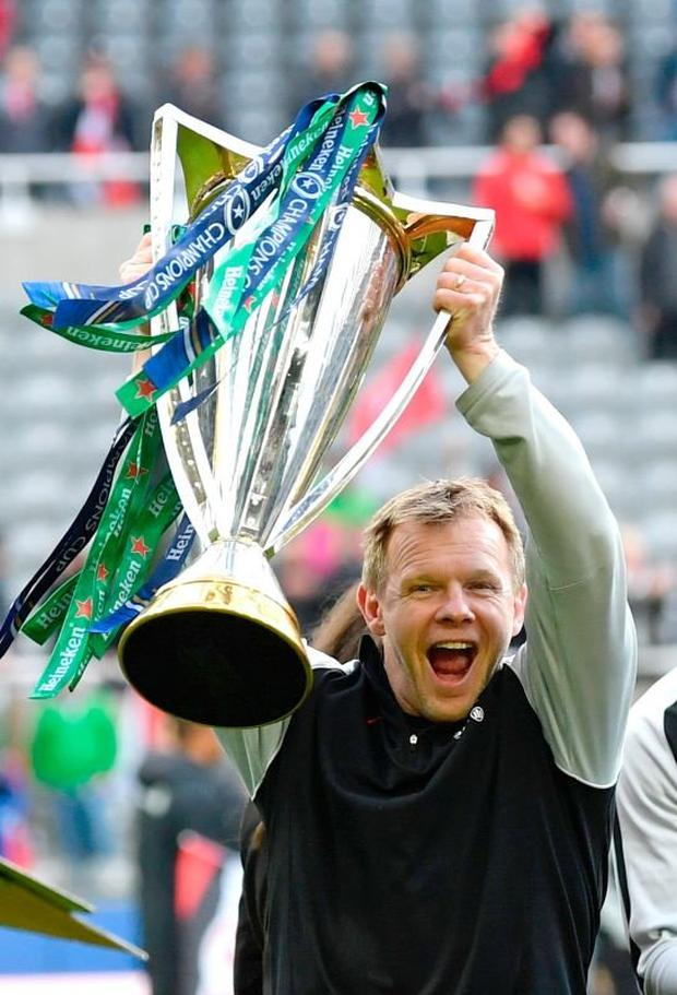 Mark McCall has had more than his fair share of success in the same position with Saracens. Photo by Dan Mullan/Getty Images