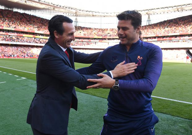 Mauricio Pochettino could be in line to fill the Arsenal hotseat left empty following the departure of Unai Emery yesterday. Photo by David Price/Arsenal FC via Getty Images