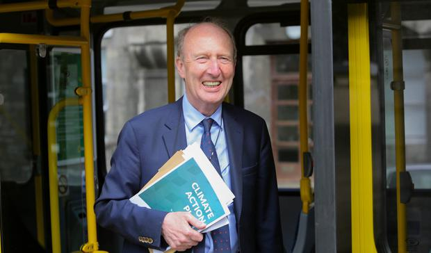 Despite all the niggles, when it comes to road safety, Shane Ross has been a hero of sorts. Photo: Gareth Chaney Collins