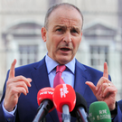 Fianna Fail Micheal Martin. Photo: Gareth Chaney/Collins