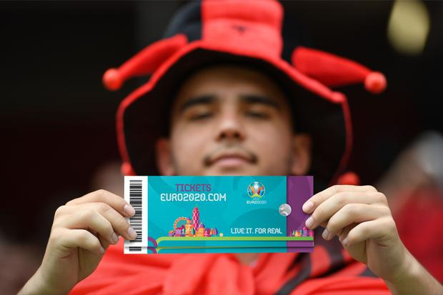 Euro 2020 tickets go on sale though qualified associations on Wednesday December 4th. Picture: UEFA