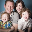 Battle: The lives of Stephen Teap, his wife Irene and their sons Oscar and Noah changed forever when she was diagnosed with cervical cancer in September 2015