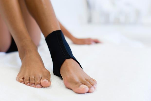 Physiotherapy is a good place to start for an ankle injury