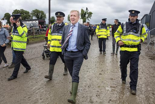 Justified spending: Agriculture Minister Michael Creed at the Ploughing earlier this year. Photo: Arthur Carron