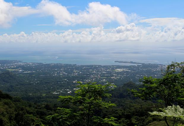 FILE PHOTO: A view of the capital Apia, Samoa, July 12, 2019. Picture taken July 12, 2019. REUTERS/Jonathan Barrett/File Photo