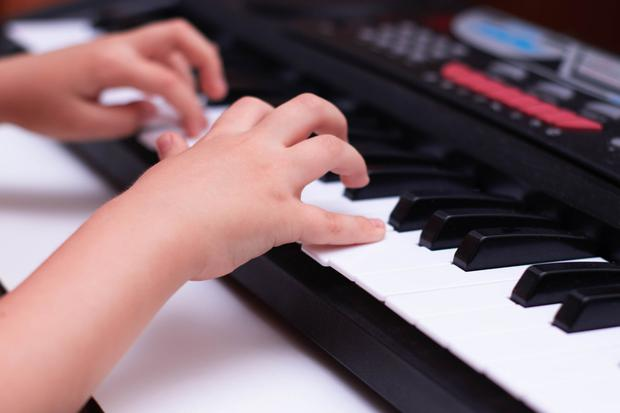 St Vincent de Paul is providing music lessons for children in direct provision. Stock image