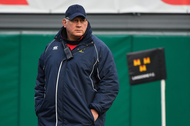 Lansdowne coach Mike Ruddock has joined the Ospreys on a short-term contract. Photo by Brendan Moran/Sportsfile