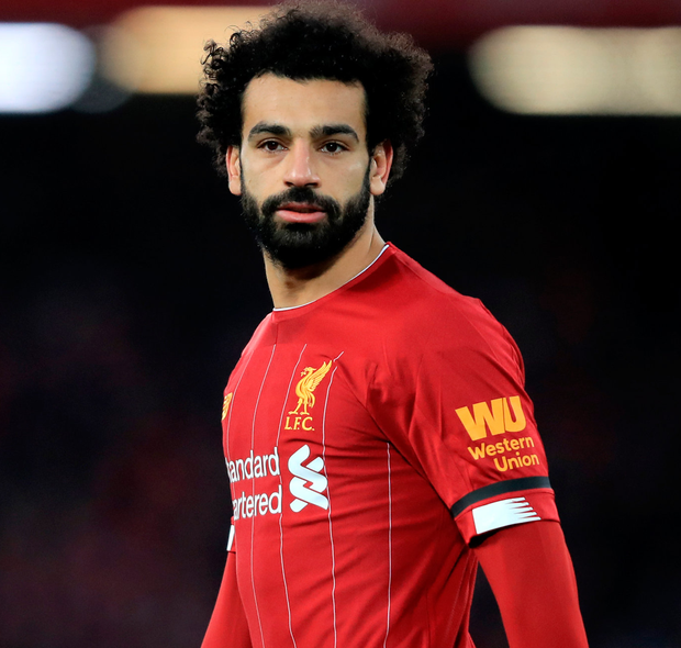 Mohamed Salah seems to be lacking in confidence