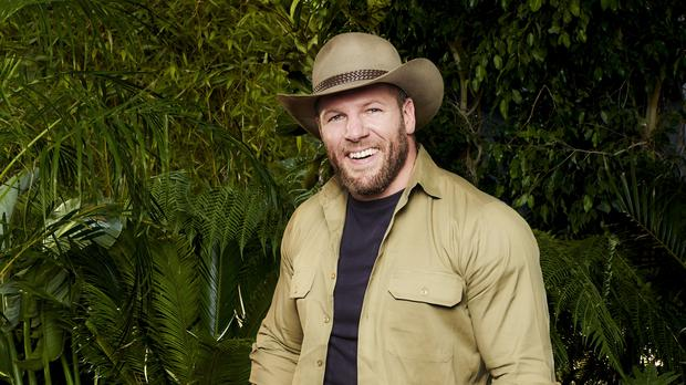 James Haskell was the fourth camp-mate to leave the jungle (ITV/PA)