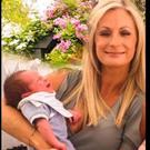 Nicola Hanney with her son Cal