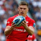 Owen Farrell of Saracens. Photo: Getty Images