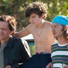 Clifton Collins Jr., Noah jupe and Shia LaBeouf in the heartwarming Honey Boy