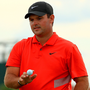 Patrick Reed of the United States reacts during the Hero World Challenge in Nassau, Bahamas. Photo: Mike Ehrmann/Getty Images