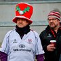 7 December 2019; Ulster supporters in festive spirit before the Heineken Champions Cup Pool 3 Round 3 match between Ulster and Harlequins at Kingspan Stadium in Belfast. Photo by Oliver McVeigh/Sportsfile