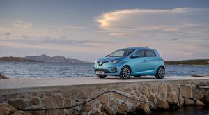 Electric compact: The Renault Zoe has been chosen as the Top Gear City Car of the Year