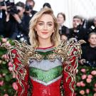 CAN'T DO THE DART: Saoirse Ronan at the Met Ball in New York last summer. Picture: Reuters
