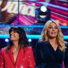 Strictly presenters Tess Daly and Claudia Winkleman (Kieron McCarron/BBC)