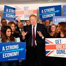 'A Boris victory in this week's election make an early poll here a virtual certainty' Photo: Stefan Rousseau/PA Wire