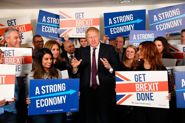 A Boris victory in this week's election make an early poll here a virtual certainty