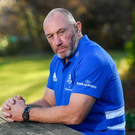Change of scenery: Robin McBryde says he was flattered when the opportunity arose to join Leinster's backroom team. Photo by Ramsey Cardy/Sportsfile