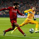 Liverpool's Mohamed Salah scored a sensational goal to help sink Red Bull Salzburg. Action Images via Reuters/John Sibley TPX IMAGES OF THE DAY