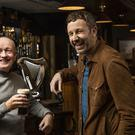 Sean O'Mahonny and Chris O'Dowd support Social Spin 1