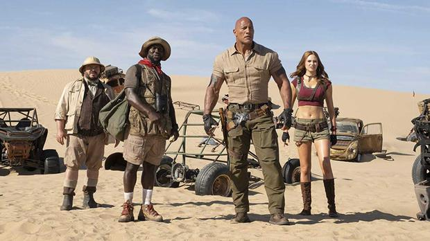 'Jumanji' Takes Top Spot At Box Office From 'Frozen 2'