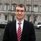 Peter Finnegan, clerk of the Dáil. Photo: Tom Burke