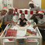 Liverpool squad visit Alder Hey Children's Hospital 12/12/19. Photo: Alder Hey Twitter screengrab