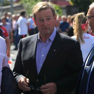 Move: Former Taoiseach Enda Kenny initially removed the perks. Photo: Gareth Chaney/Collins