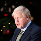 'I wish someone would rescue Ireland from Boris.' Photo by Dan Kitwood/Getty Images