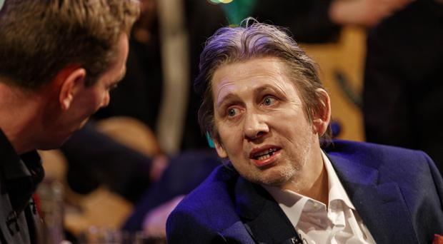Shane MacGowan pictured on The Late Late Show Shane MacGowan and Fairytale of New York special. Picture Andres Poveda