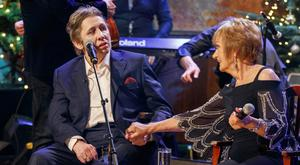 Shane MacGowan performes Fairytale of New York with Philomena Begley Picture Andres Poveda