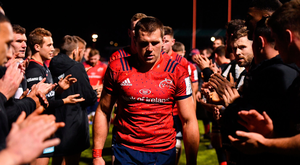 Munster captain CJ Stander opted against attempting a late penalty that could have secured a losing bonus point against Saracens. Photo by Seb Daly/Sportsfile