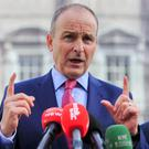 Fianna Fail leader Micheal Martin. Photo: Gareth Chaney/Collins