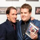 James Corden (r) and Rob Brydon (Ian West/PA)