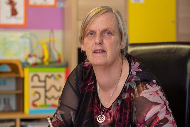 'Crippled with insurance': Helen Mallon at Step By Step Crèche and Montessori in Co Kilkenny. Photo: Dylan Vaughan.