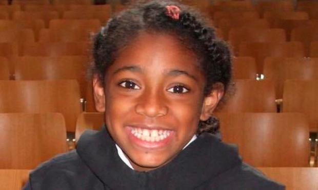 Nine-year-old Ella Kissi-Debrah who suffered a fatal asthma attack. Photo: PA