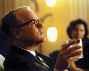 Hoffman in his Oscar winning role of Capote