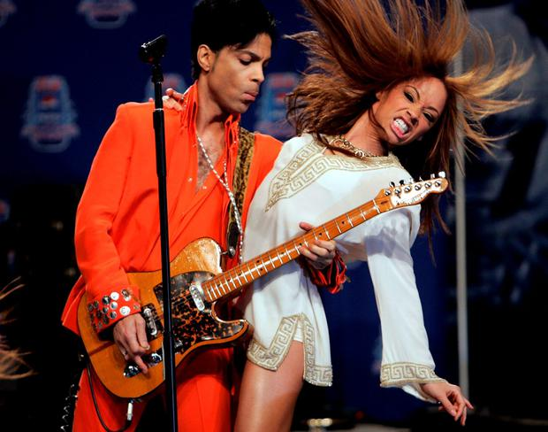 CONSUMMATE SHOWMAN: Prince. Photo: Reuters