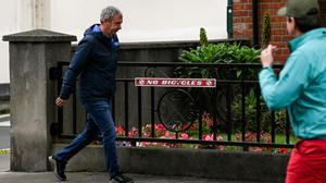 Peter Keane's has taken the downplaying of fact to another dimension. Photo: Sportsfile
