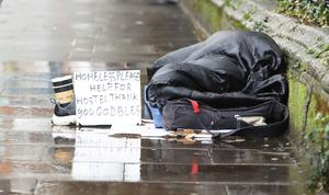 Life on the margins: In 2018, 40pc of those living below the poverty line were experiencing enforced deprivation, which means going without basics such as nutritious food or adequate heat. Photo: Leah Farrell/RollingNews.ie